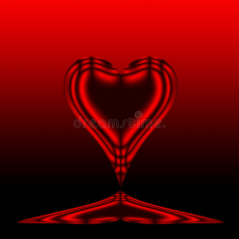 Free Red Heart Royalty Free Stock Photos - 6433188