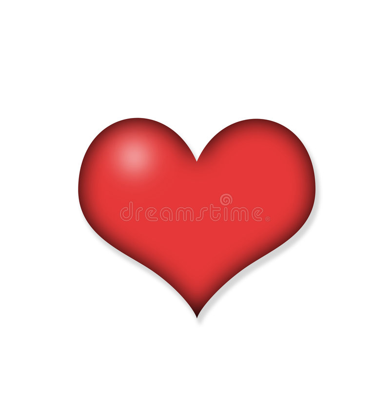 Free Red Heart Stock Photos - 7556943