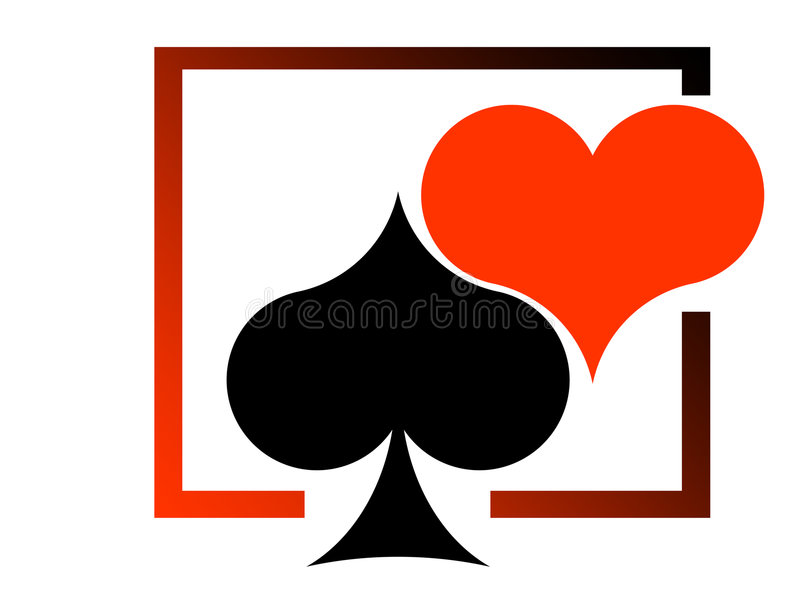 Download Red Heart And Black Heart Stock Images - Image: 2323024
