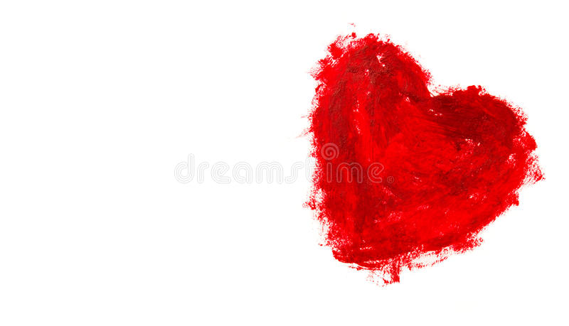 Red heart shape background royalty free stock images