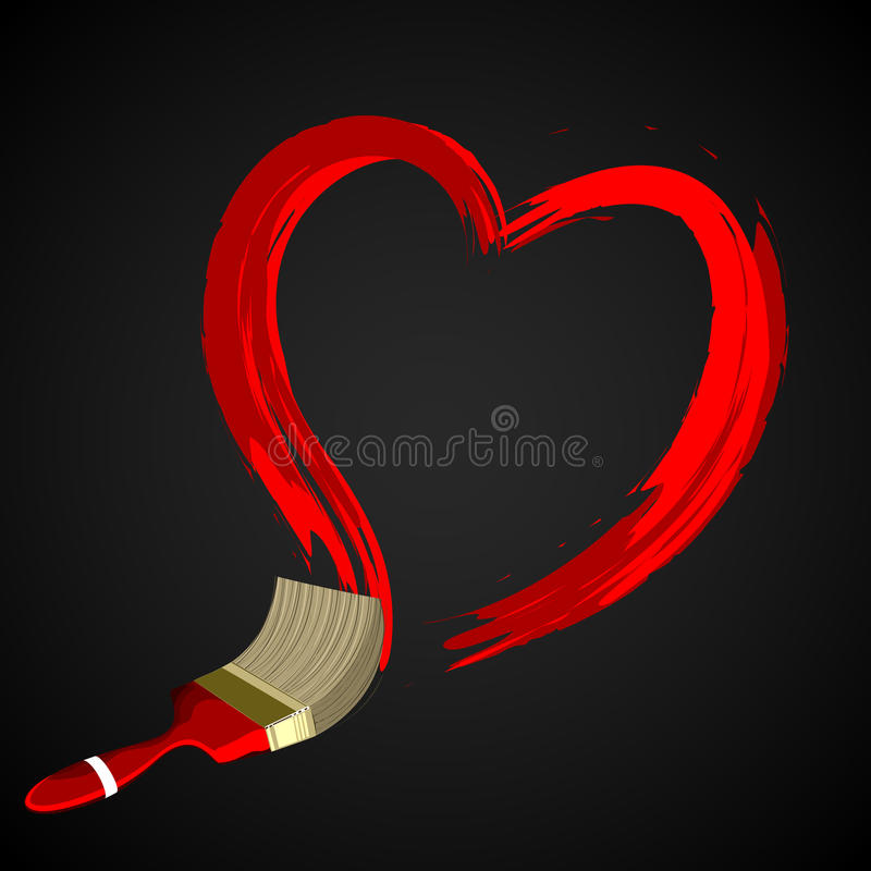 Free Red Heart Shape Frame For Text Royalty Free Stock Photography - 17639997
