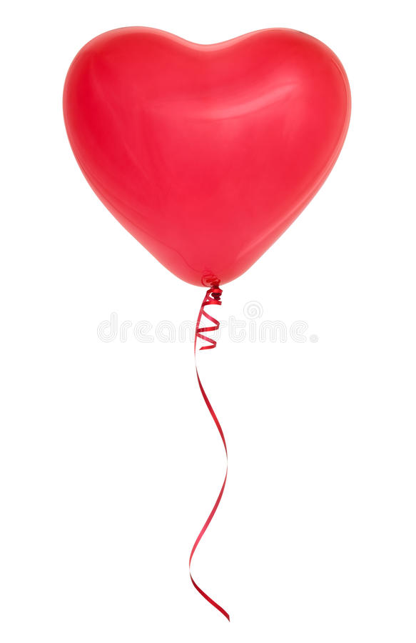 Red Heart Shaped Balloon Decoration