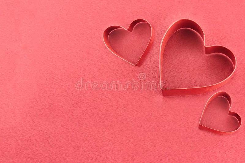 Download Red Hearts stock photo. Image of element, cookie, paper - 28443690