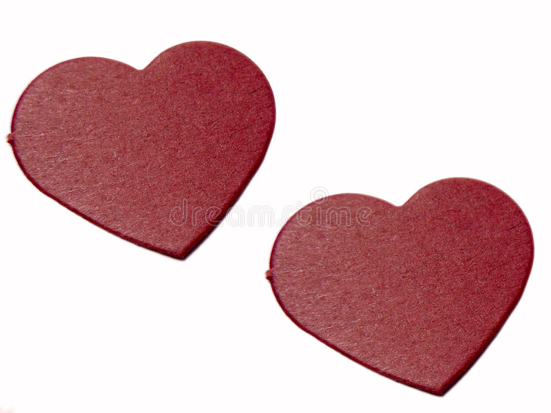 Download Red hearts stock image. Image of paint, painted, relationship - 62567