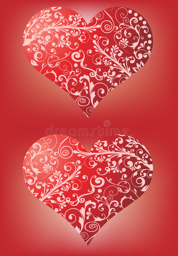 Free Red Hearts Royalty Free Stock Photography - 7691407