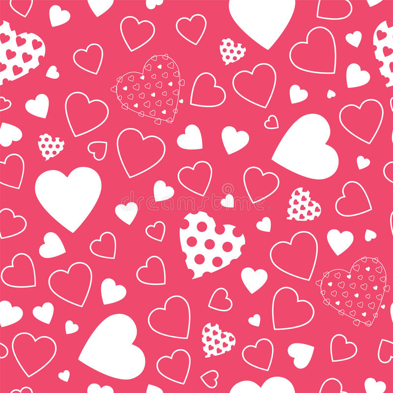 seamless hearts polka dot red pattern free stock photos stockfreeimages seamless hearts polka dot red pattern