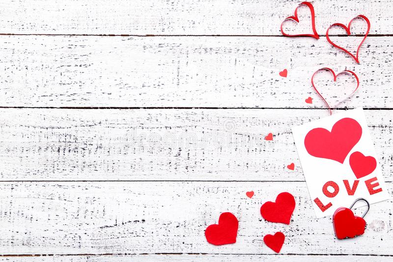 Hearts with greeting card stock photos