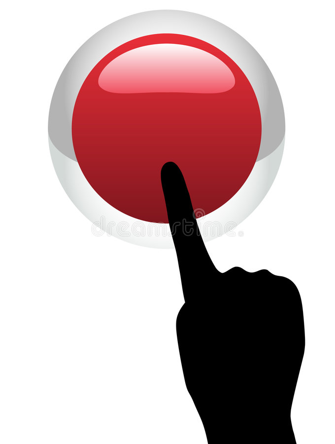 Download Red Help Button stock vector. Image of vector, help, glassy - 5978481
