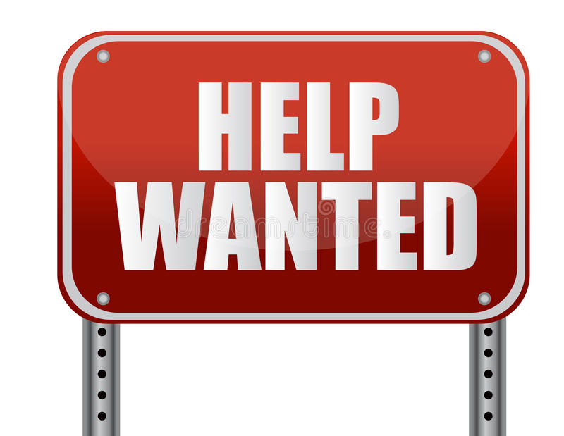 It's just a picture of Handy Printable Help Wanted Sign