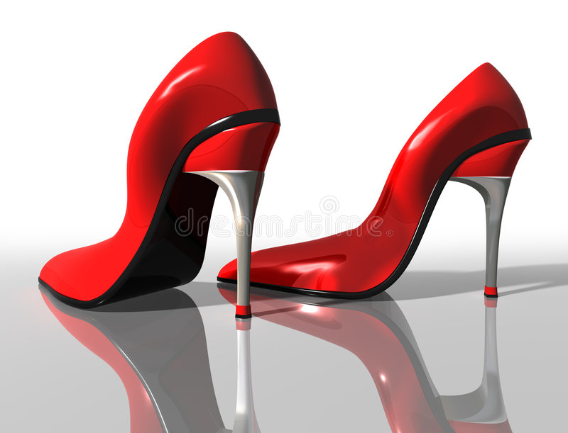 Download Red High Heels Royalty Free Stock Images - Image: 9246609