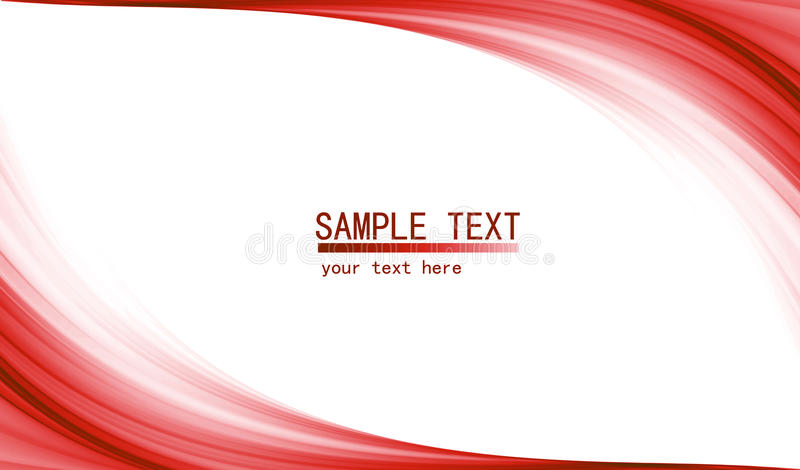 Red high tech abstract background royalty free illustration
