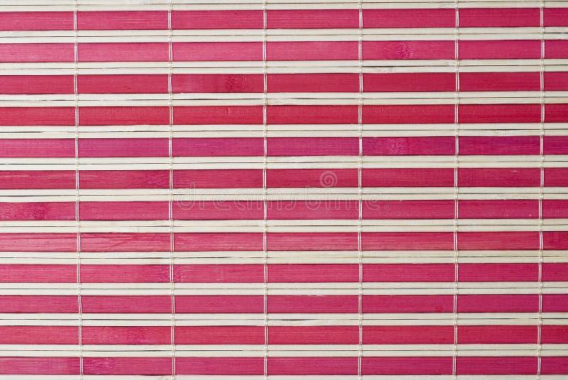Download A Red Horizontal Bamboo Mat. Royalty Free Stock Photo - Image: 16728535