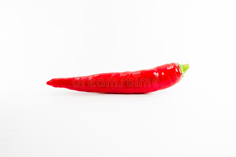 Download Red Hot Chili Pepper Shrink On A White Background Stock Photo - Image of fiery, cayenne: 26072018