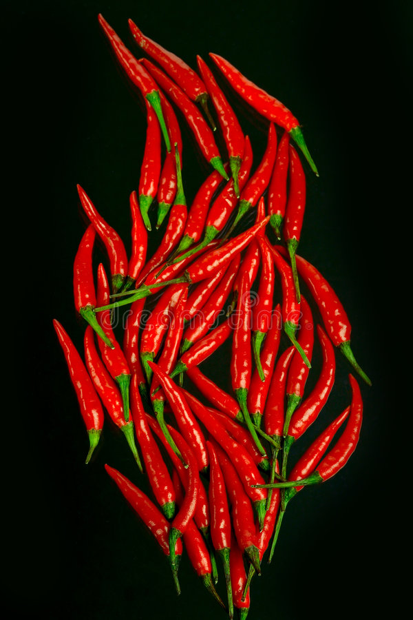 Red-hot Chili Peppers Royalty Free Stock Images