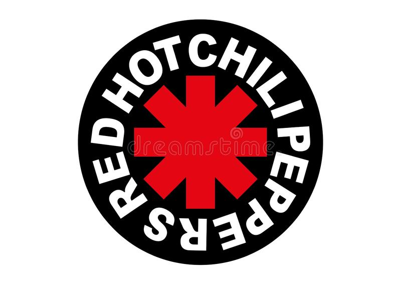 Red Hot Chili Peppers Logo Editorial Stock Photo Illustration Of Format 141271373