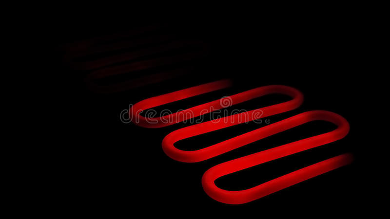 Download Red hot heating element stock photo. Image of resistor - 24351212