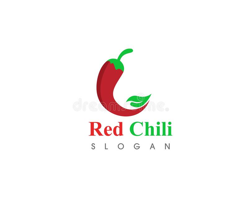 Red hot natural chili icon Template vector Illustration. Food, spicy, cooking, pepper, vegetable, fresh, spice, chilli, organic, mexican, ripe, isolated vector illustration