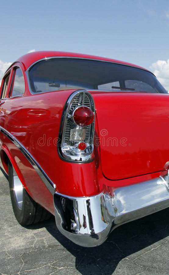 Download Red Hot Rod stock photo. Image of retro, automobile, vintage - 21116082