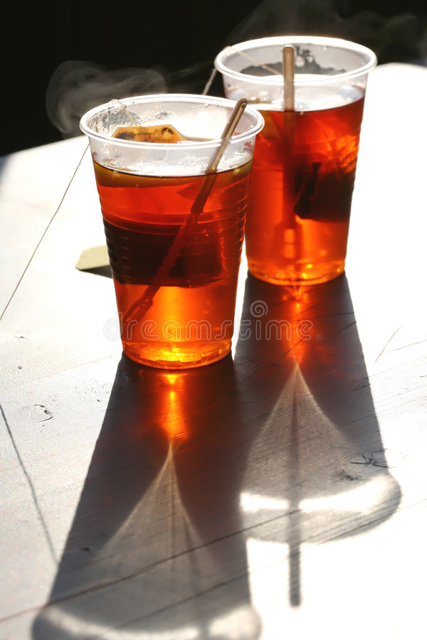Red Hot Tea Stock Images