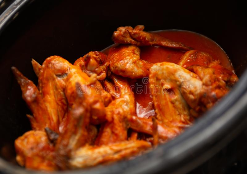 Red Hot Wings. For a cook off royalty free stock photography