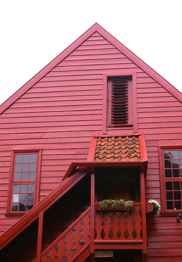 Red House Stock Photos