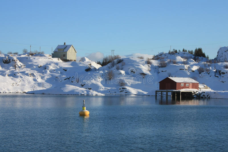 Download Red House Jellow Bouy Stock Image - Image: 13185481