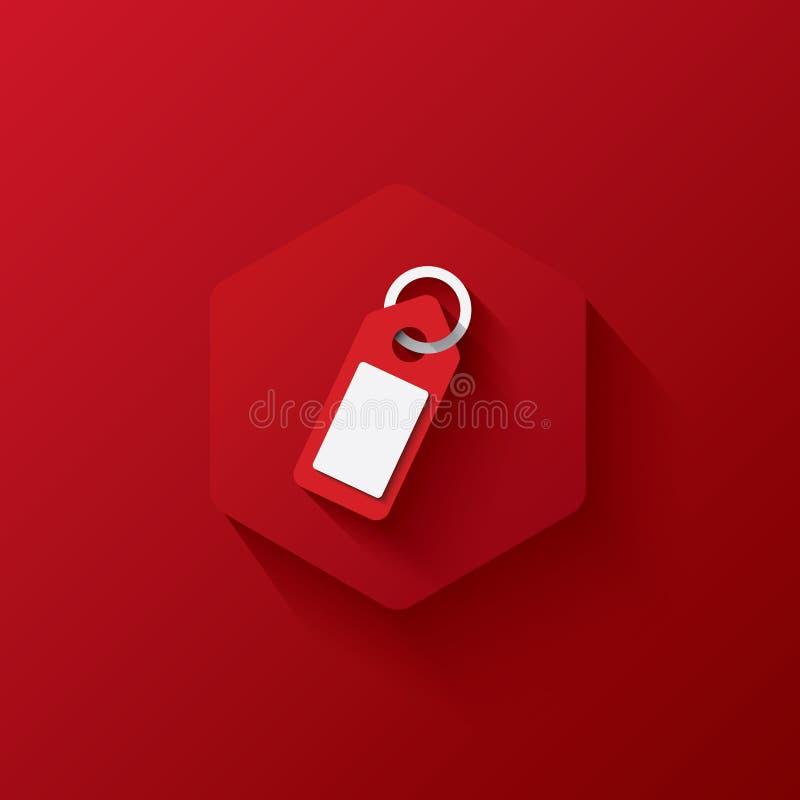 Red icon on red hexagon,marketing,Three-dimensional icon stock photos