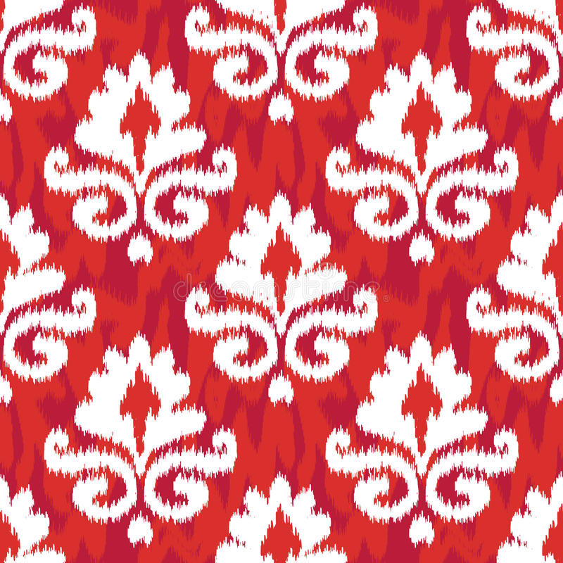 Download Red Ikat Damask stock photo. Image of education, celebrities - 34613866