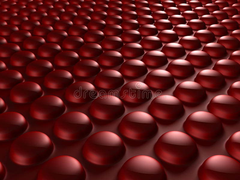 Red Industrial Metallic Shiny Background vector illustration