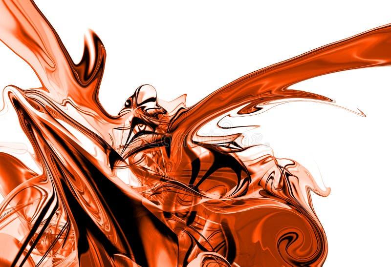 Download Red ink splash stock illustration. Image of liquid, backdrop - 1877391
