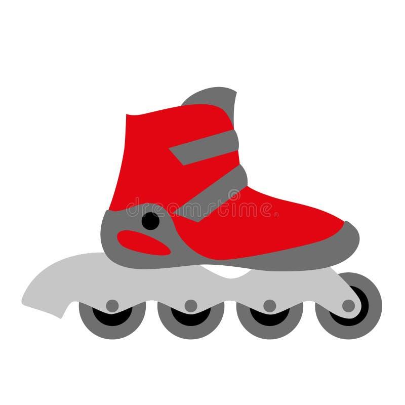 red inline roller skate boot stock vector image 42857362 Vintage Roller Derby Roller Derby Artwork