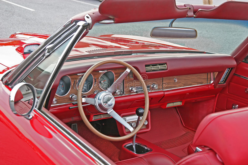 Red Interior royalty free stock photography