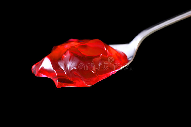 Red jelly royalty free stock image