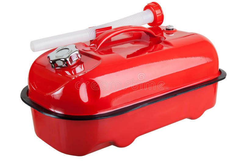 Download Red jerrycan stock image. Image of jerry, fuel, full - 30425475
