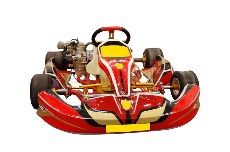 Red kart stock images