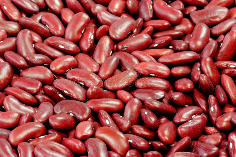 Red Kidney Beans Stock Photo