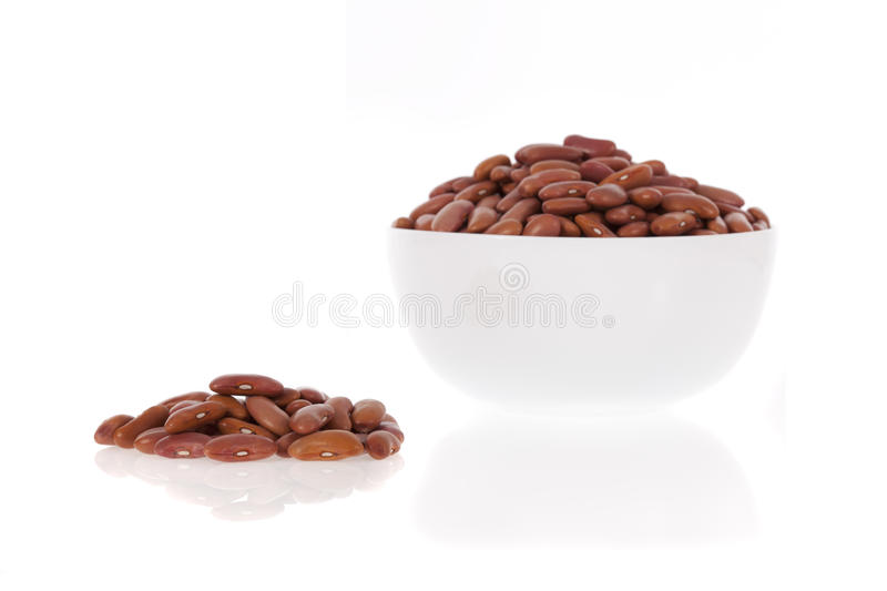 Red Kidney Beans In A Bowl Royalty Free Stock Images