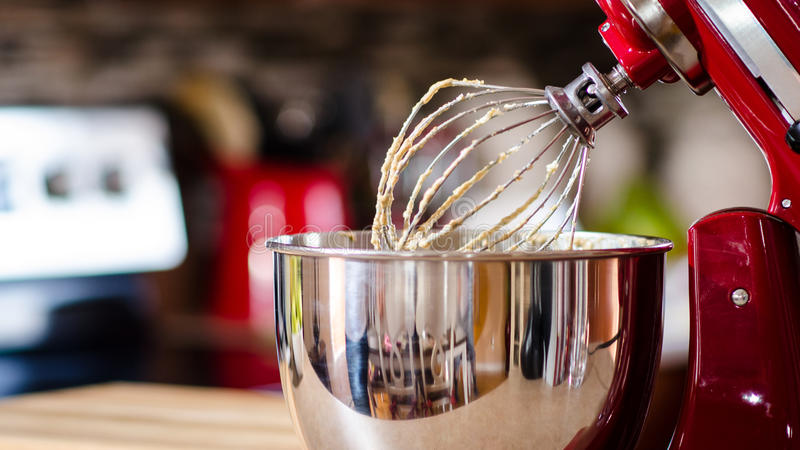 Red Kitchen Appliance royalty free stock images