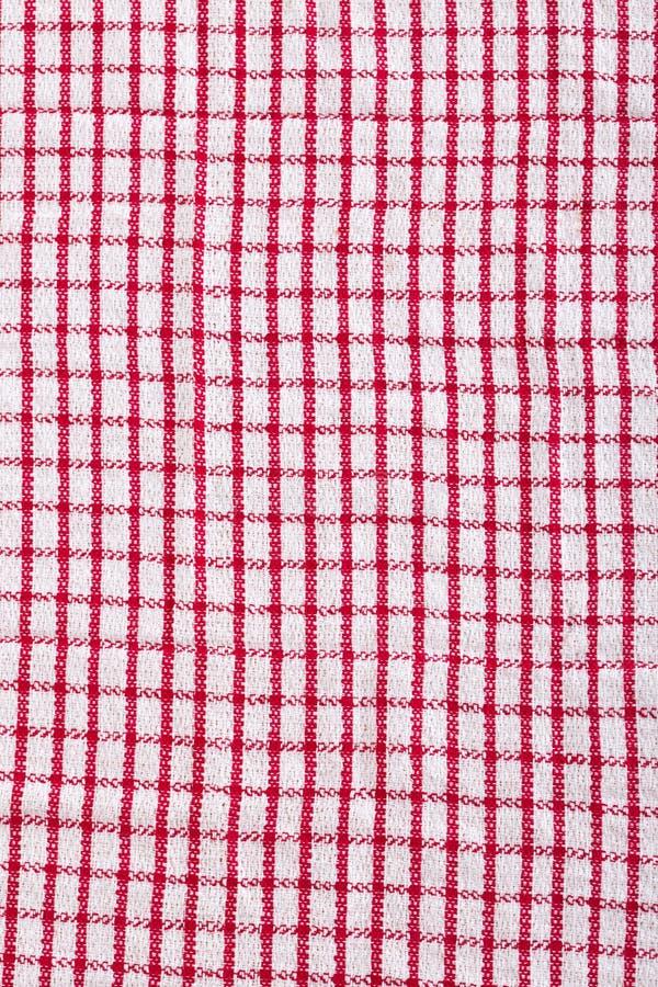 Red Kitchen Napkin Stock Image