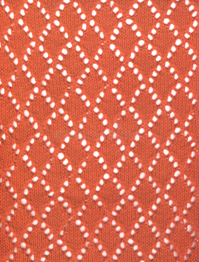 Download Red knitted lace fabric stock image. Image of courage - 3505505
