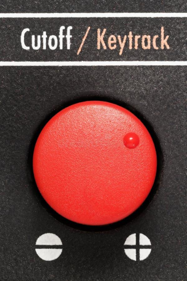 Red Knob Stock Image