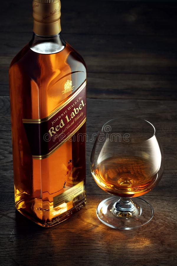 Free Red Label And Glass Stock Photos - 158173543