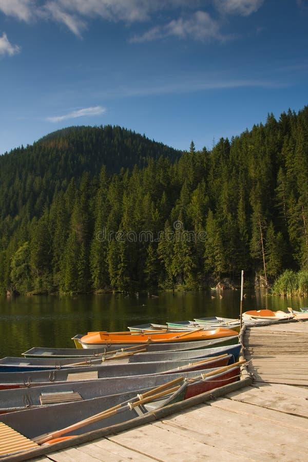 Red Lake royalty free stock photos
