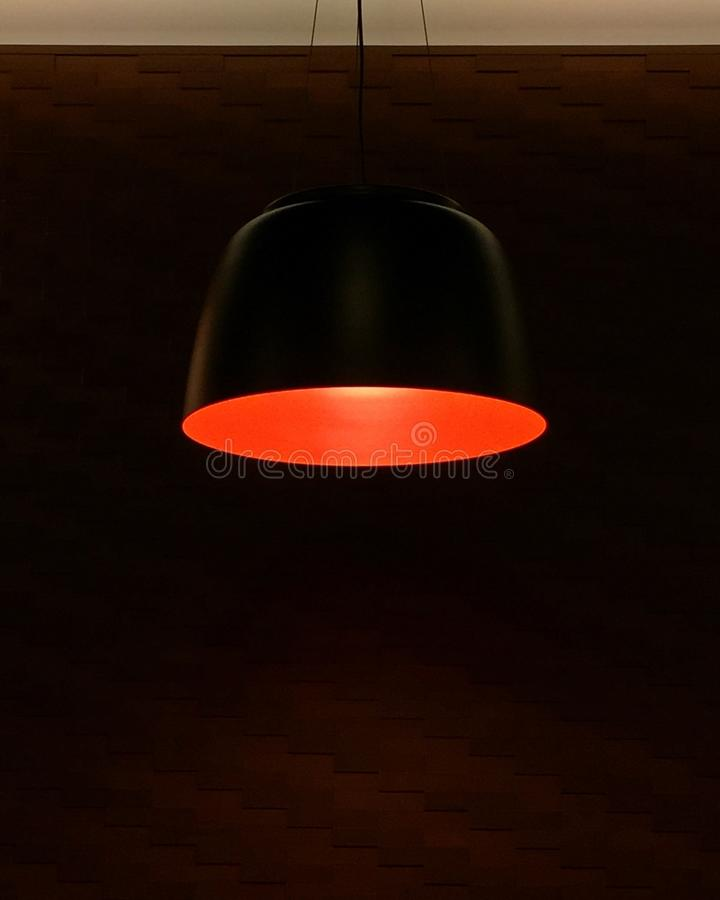 The red lamp royalty free stock images