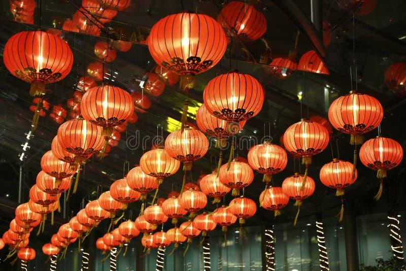 Download Red lantern in hotel stock image. Image of luck, lantern - 28755605