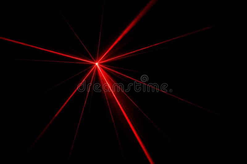 Laser beam light effect stock photo