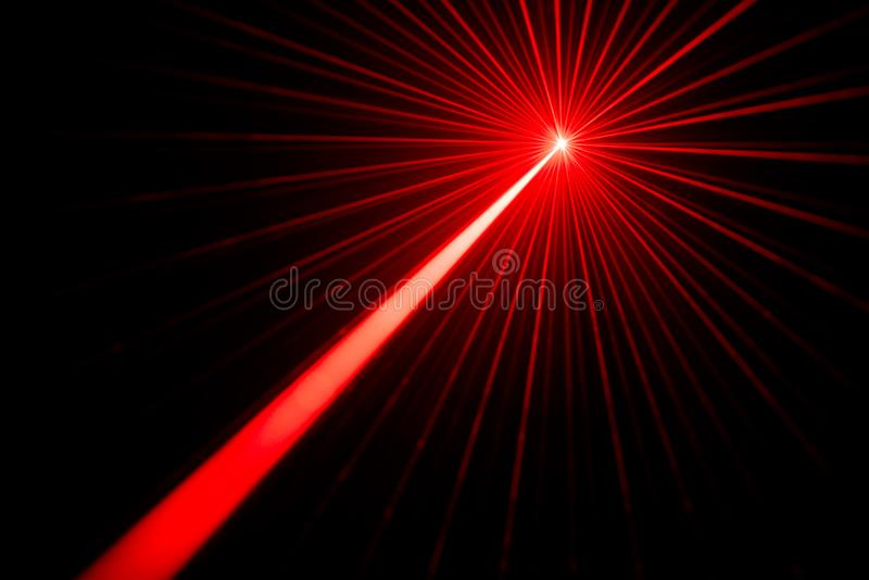 Laser beam light effect royalty free stock image