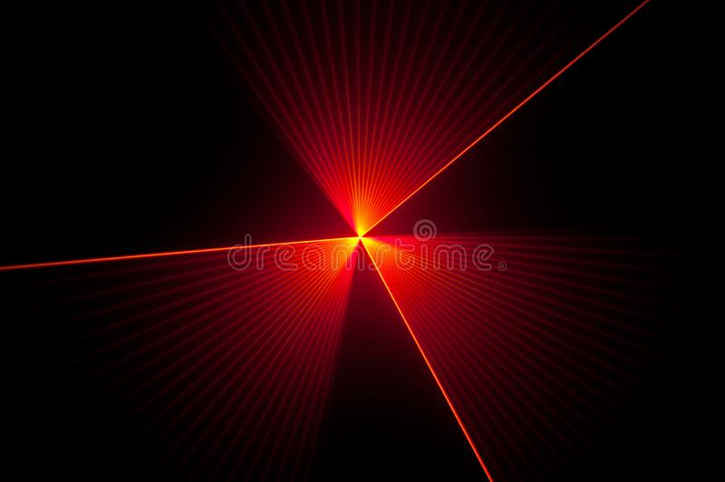 Red Laser Light Beam Background with Lines and Stripes royalty free stock photo