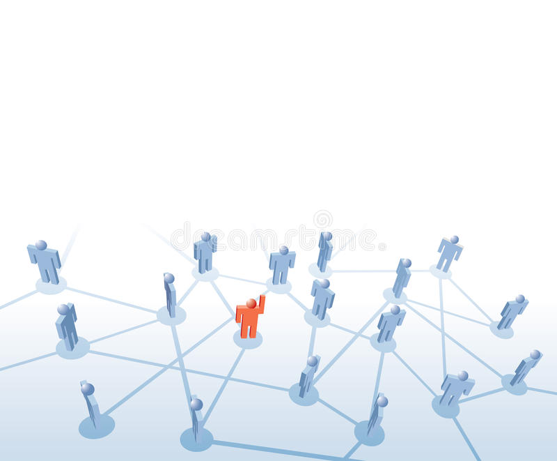 Download Red leader stock illustration. Image of follow, company - 17355588