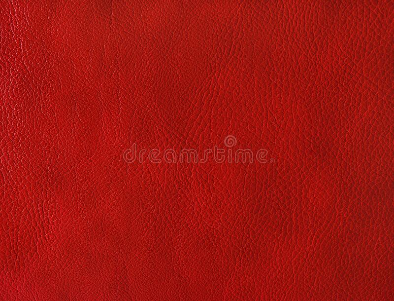 Red leather background royalty free stock photo